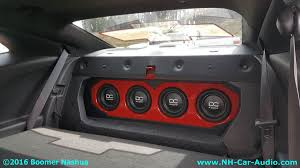 camaro speaker box chevy camaro custom sub box boomer nashua mobile electronics
