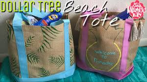 dollar tree diy tote bag