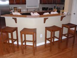 kitchen breakfast bar configurations for casual and informal
