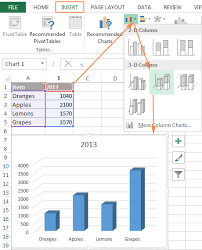 How To Create Spreadsheets In Excel How To Create A Chart In Excel From Sheets