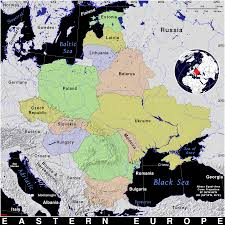 Map Eastern Europe Eastern Europe Public Domain Maps By Pat The Free Open Source