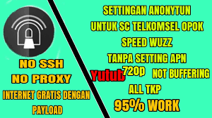 bug baru telkomsel settingan anonytun telkomsel bug baru speed wuzz 100 work