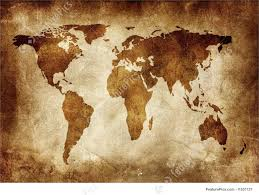 Old World Map Wallpaper by Signs And Info Grunge Background Stock Illustration I1531121 At