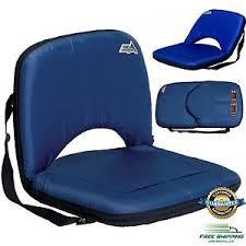 portable stadium chair folding seat bleacher cushion bench durable