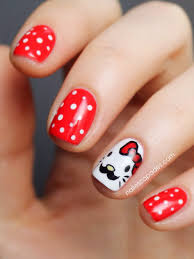 nail escapades hello kitty movember nails
