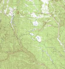 Topographical Map Of New Mexico by Valle Vidal Carson National Forest New Mexico