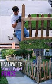 25 fantastic reclaimed wood halloween decorations for your home