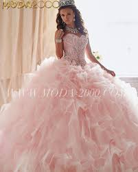 light pink quinceanera dresses sweetheart jeweled blush light pink quinceanera dress ruffles