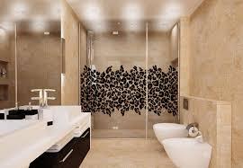 animal print bathroom ideas magnificent shower door cling leopard print modern bathroom