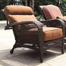 Recliner Chair Longboat Key Wicker Reclining Chair Wickercentral Com