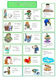 english worksheets comparison of adjectives worksheets page 4