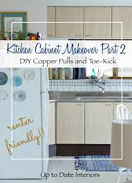 rental kitchen cabinet makeover part 2 up to date interiors