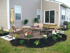 Concrete Backyard Patio by Pros And Cons Of Stamping Concrete Compass Design Concrete