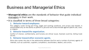 business ethics and social responsibility ppt download