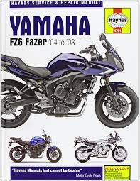 amazon com yamaha fz6 fazer u002704 to u002708 service u0026 repair manual