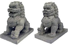 large set of foo dogs guardian lions museum store company