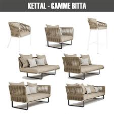 Kettal Outdoor Furniture 3d Models Outdoor Collection Kettal Bitta Pack 3d Models