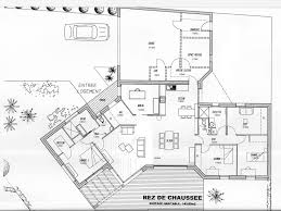 plan maison en l plain pied 3 chambres cuisine pc plans catalogue nos plans de maison plan maison plain