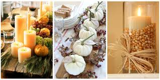 home made thanksgiving decorations 40 fall and thanksgiving centerpieces diy ideas for fall table