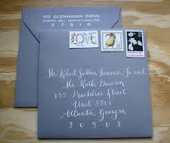 Stamps For Wedding Invitations Yellow And Grey Letterpress Suite Blue Eye Brown Eye