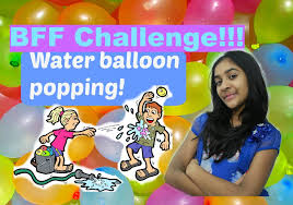 Challenge Water Balloon Bff Water Balloon Challenge