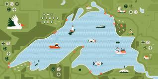Lake Superior Map A Road Tripper U0027s Travel Guide To Lake Superior