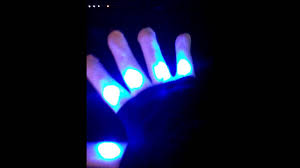 7 colors led flashing finger lighting gloves product review youtube