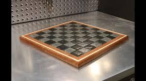 Diy Chess Set Diy Chess Board Glass Youtube