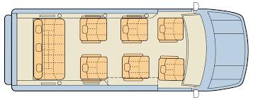 Custom Floor Plan by Mercedes Conversion U2013 Luxury Van Midwest Automotive Designs