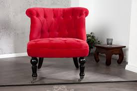 tissu pour fauteuil crapaud un fauteuil crapaud rouge pour un intérieur clinquant monde du