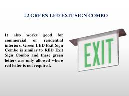 how emergency light works what are the 5 most popular emergency light exit sign combo units