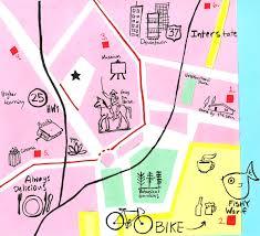 San Gabriel Map Mid Century San Gabriel Ca Skillshare Projects