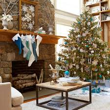 Homes Decorated For Christmas 25 Beautiful Christmas Tree Decorating Ideas