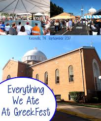 everything we ate at knoxville greek fest 2017 brownie bites blog
