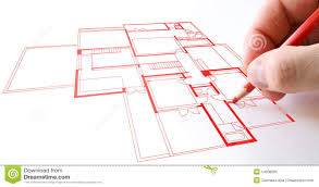 house plan drawing royalty free stock photo image 14038005