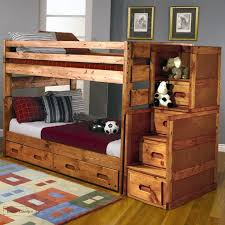 Bunk Bed Deals Pine Bunk Bed In Wash With Optional Stairs At