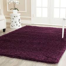 safavieh california shag purple 4 ft x 6 ft area rug sg151 7373