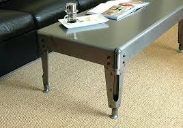 sheet metal coffee table industrial metal coffee table metal glass coffee table industrial in