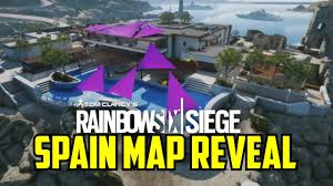 Spain Map Coastline Map Reveal Spain Rainbow Six Siege Velvet Shell Spanish