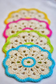 101 best crochet pot holders u0026 coasters images on pinterest