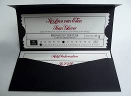 Movie Ticket Wedding Invitations Common Wedding Invitation Blunders And Tips On How To Avoid Them
