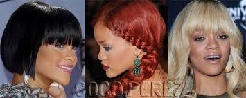 hairstyles through the years rihanna hairstyles news and photos perez hilton