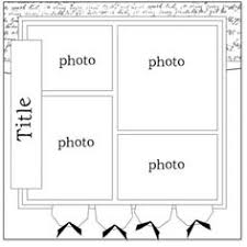 page layout sketches creativememories sketches scrapbooking