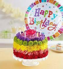 birthday flower cake birthday flower cake camdenflorist