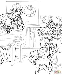 coloring download mary had a little lamb coloring page mary had a