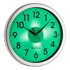Wanduhren Wohnzimmer Mit Beleuchtung Funk Wanduhr Corona Tfa 60 3519 02 Leises Uhrwerk Bürouhr Led