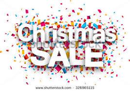 sale paper sign confetti stock vector 326965115