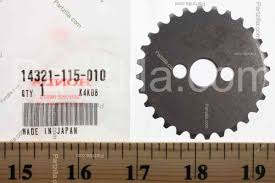14321 115 010 sprocket cam 28t 12 10