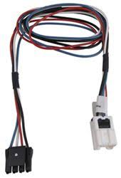 where does a brake controller wiring harness install on a 2012