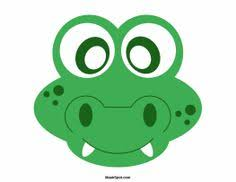 free printable frog template spring crafts ideas and